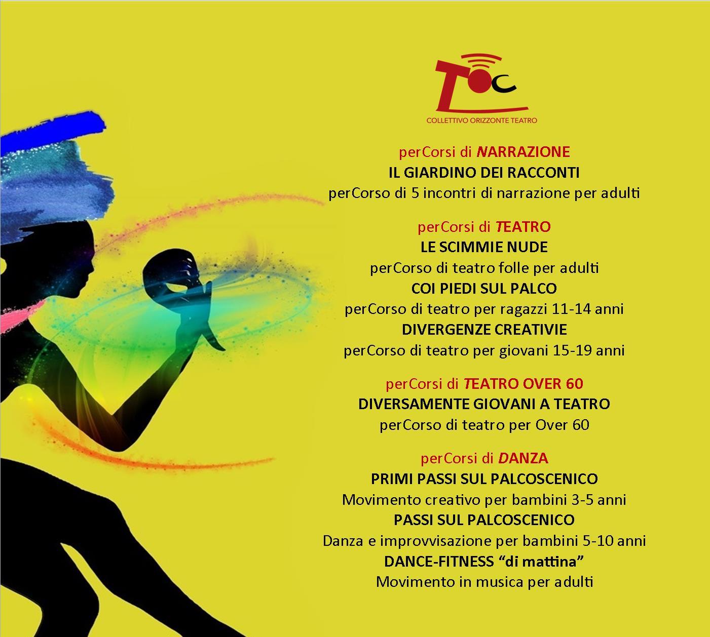 PerCorsi di Danza e Movimento per bambini e Dance Fitness per adulti